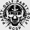 Party Golf Skull