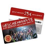 Gutschein-Karte 25 EUR