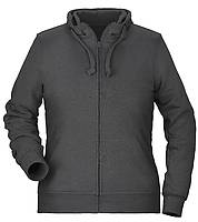 Damen Basic Hoody Full Zip